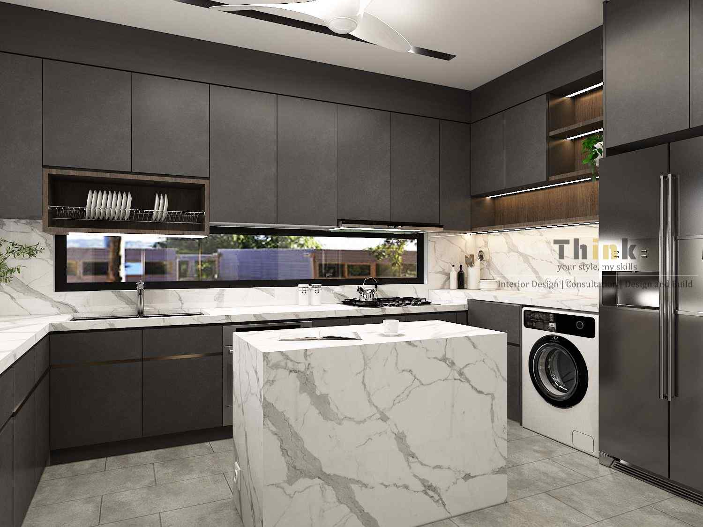 Kitchen and Laundry - Pool Villa Puchong